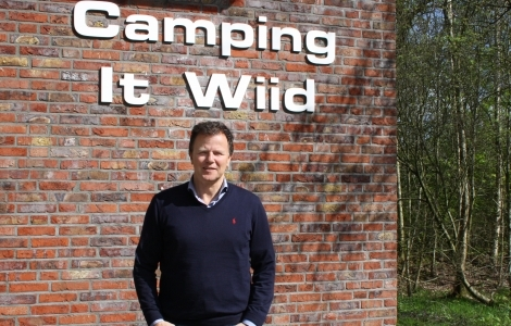 Online recreatie op camping It Wiid