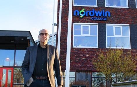 Glasvezel levensader Nordwin College