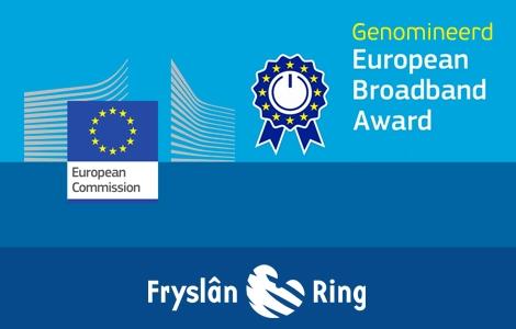 Fryslân Ring genomineerd voor Europese Breedbandprijs