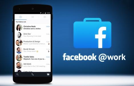 Thumbs up: Facebook op het werk