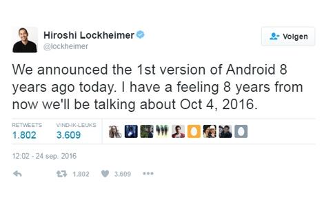 'Google voegt Android en Chrome OS samen'
